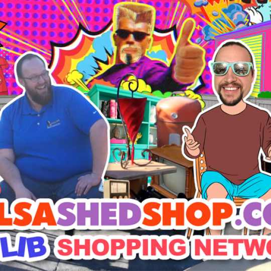 The Tulsa Shed Shop Ad Lib Shopping Network - Episode 1 | A Something Good to Watch Original